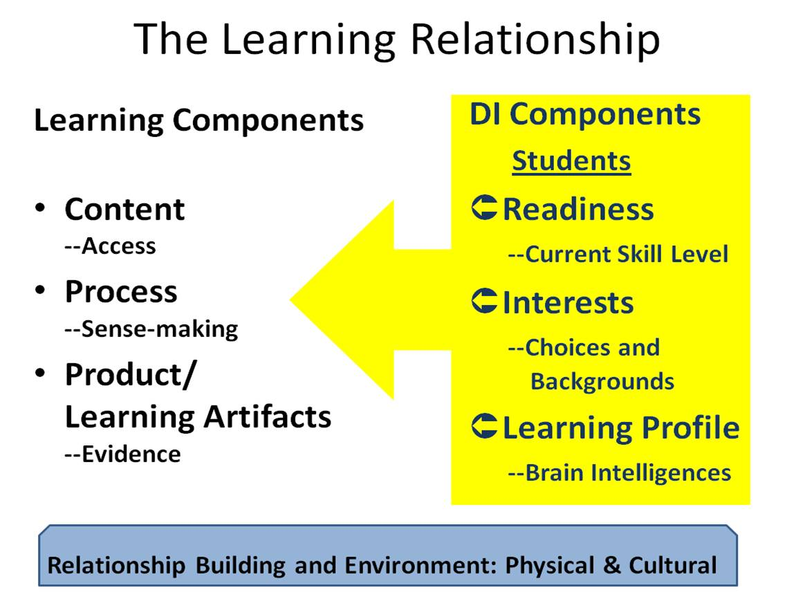 Differentiated Instruction In Learning Classrooms A2 Understanding